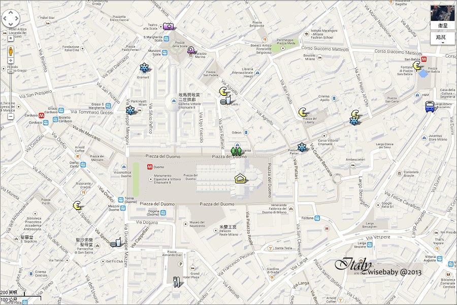 義大利|米蘭散步地圖.行程景點攻略懶人包