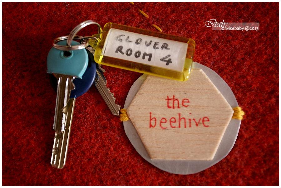 義大利 | 羅馬住宿推薦。The Beehive Hotel分館Clover Guestrooms