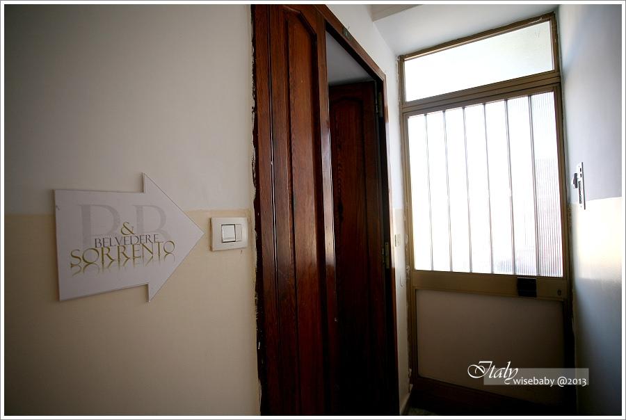 [義大利親子自助] 住宿-Sorrento::位置佳的安全選擇Belvedere Sorrento Hotel