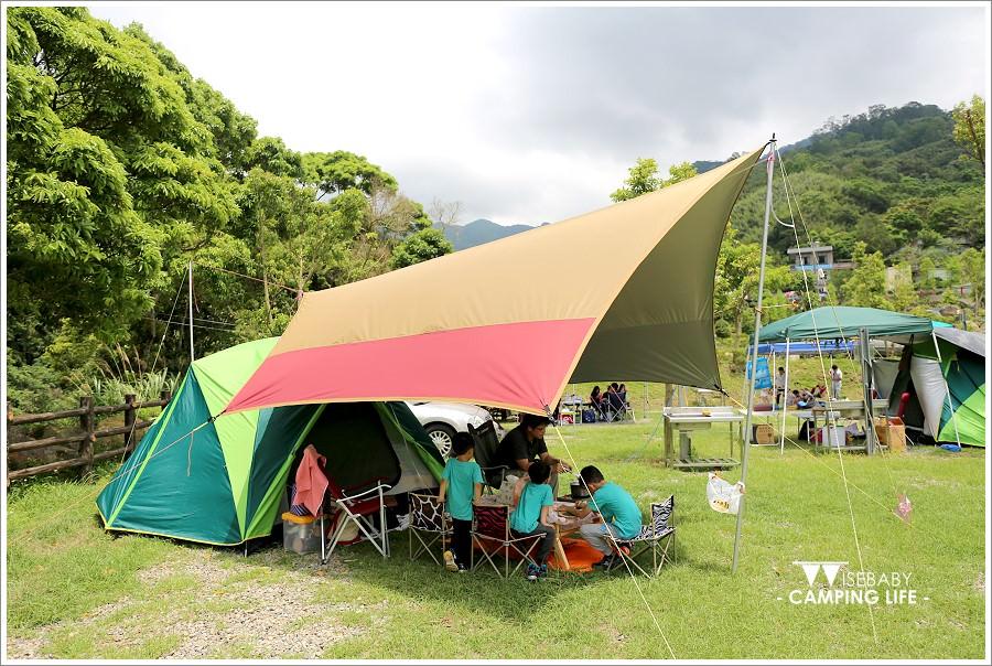 露營 | 新竹尖石。水田谷露營區.可戲水可賞螢的多小區營地