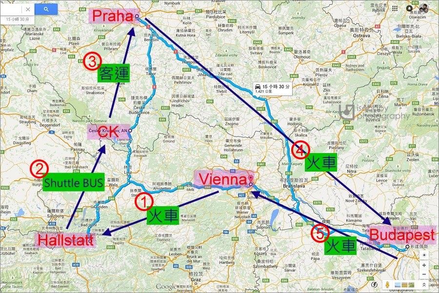 奧捷匈 | 歐洲親子自助22天攻略。交通行程景點攻略懶人包