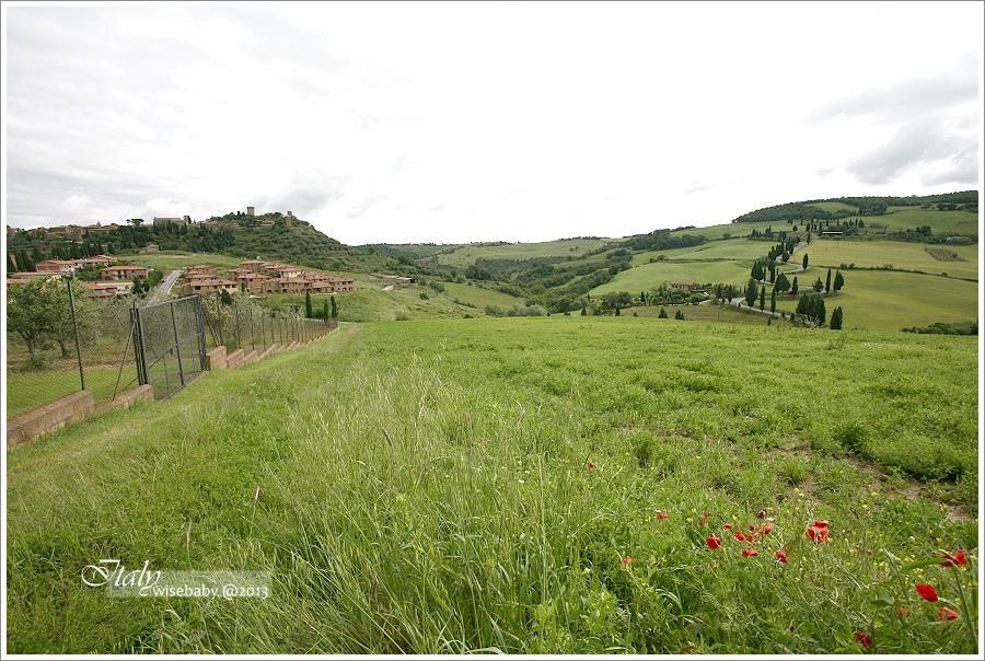 義大利|景點。尋找托斯卡尼Monticchiello絲柏之路