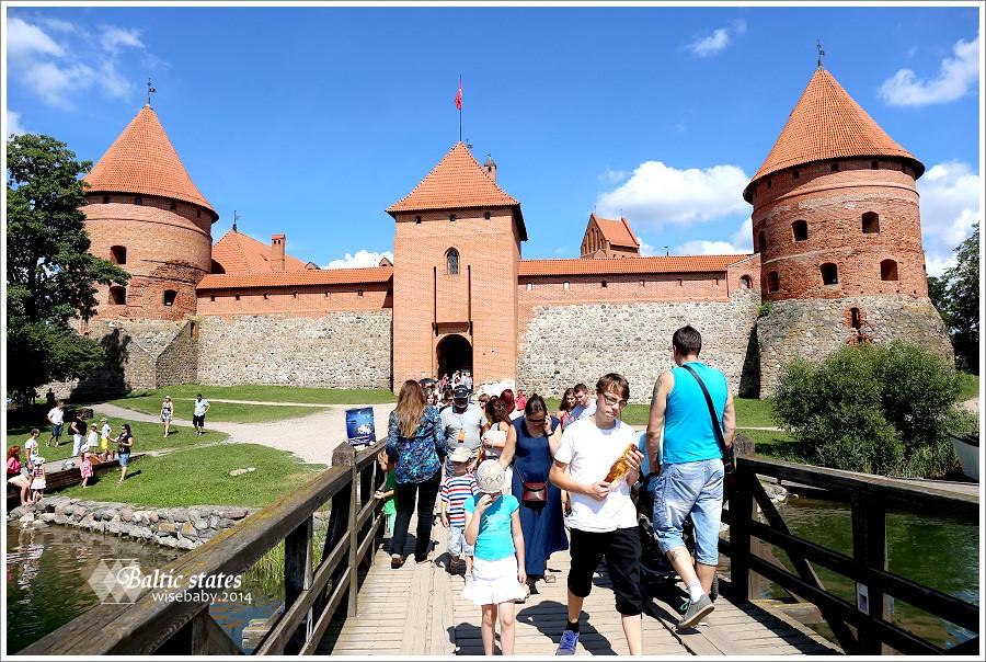 立陶宛|首都維爾紐斯DAY TOUR推薦。特拉凱湖中城堡Trakai Island Castle