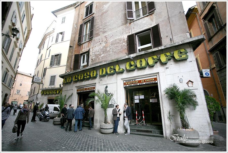 [義大利親子自助] 敗家-Roma::金杯咖啡Tazza d`oro