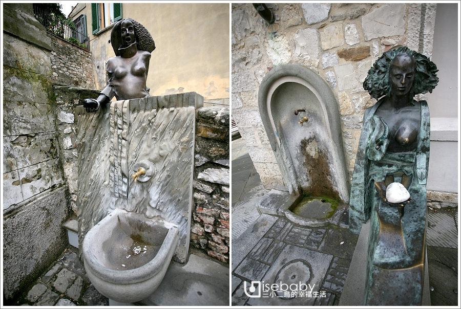 [義大利] 景點-托斯卡尼奇揚地小鎮(下)::Castellina in Chianti與Radda in Chianti