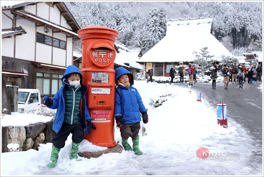 京都   日本第三合掌村。美山茅葺之里かやぶきの里「雪燈廊」