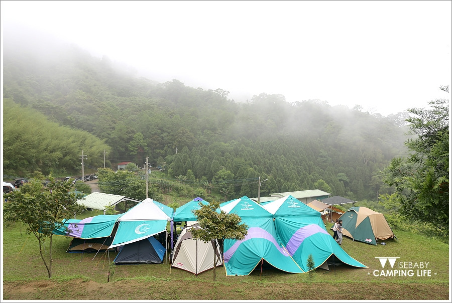 露營 | 新竹尖石。麥樹仁露營區.雨天做PIZZA開新機