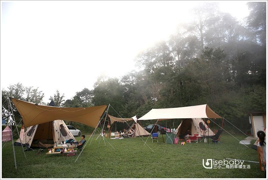 露營 | 新竹五峰。瓜麗休閒古老露營區.高海拔的原始營地VS. Robens部落團露