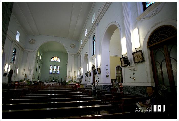 澳門親子自助【23】澳門天主教中樞的大堂(主教座堂)