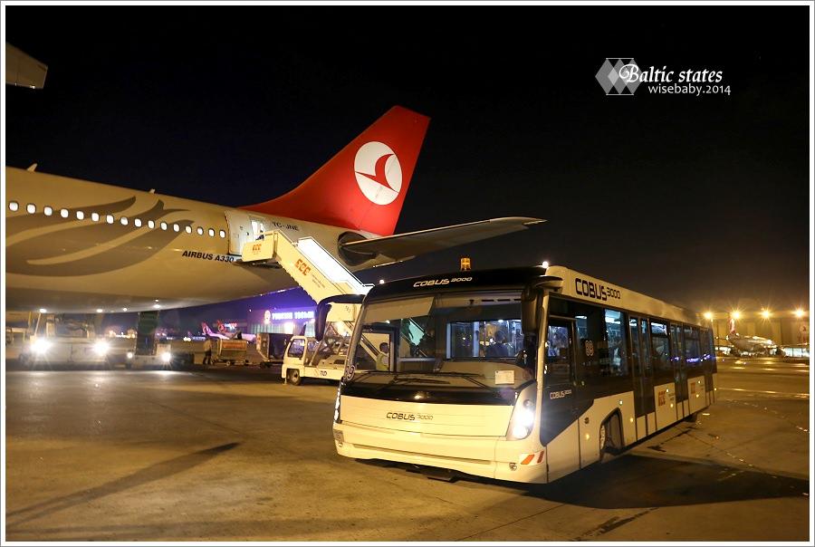 土耳其航空 | 台北TPE-日本NRT-土耳其IST-愛沙尼亞TLL-立陶宛VNO.去程32小時飛行全記錄