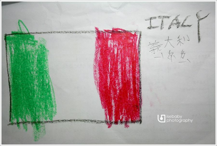 [義大利親子自助] 親子參與-認識義大利&梵蒂岡國旗