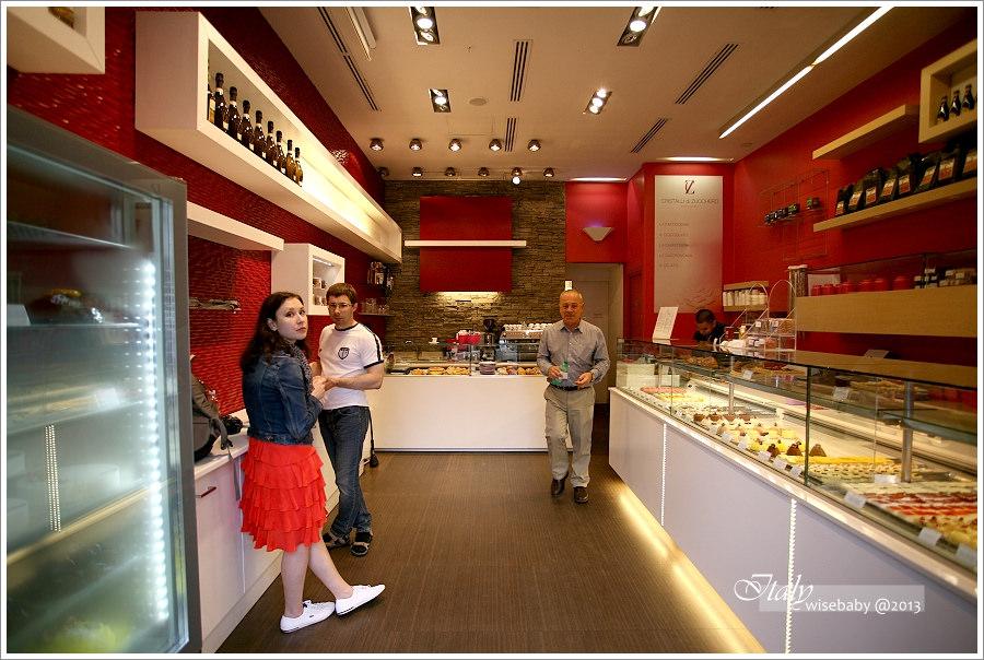 [義大利親子自助] 食記-Roma::甜點店Cristalli di zucchero