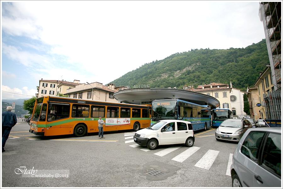 [義大利] 交通-米蘭近郊一日遊::科摩湖Lake Como小鎮Como、Bellagio、Varenna交通手段攻略