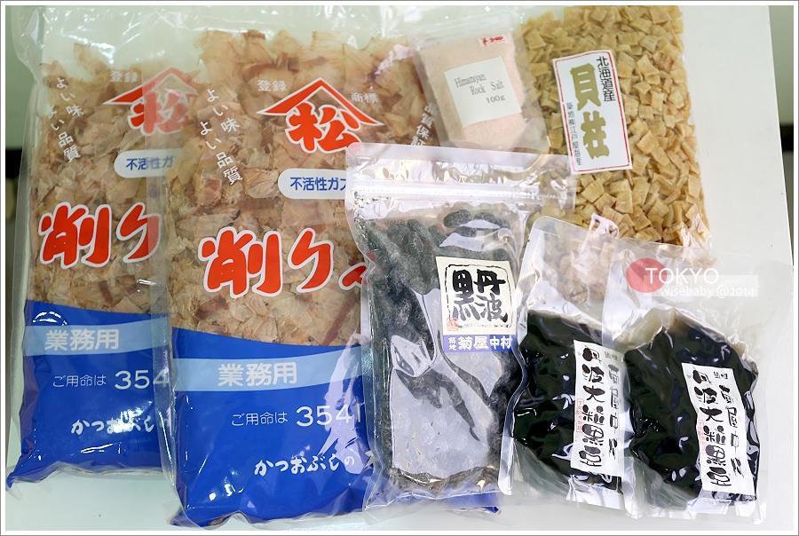 [東京自助] 分享-帶媽媽去旅行的戰利品(拼布、廚房雜貨、食物、藥妝、服飾、電器)