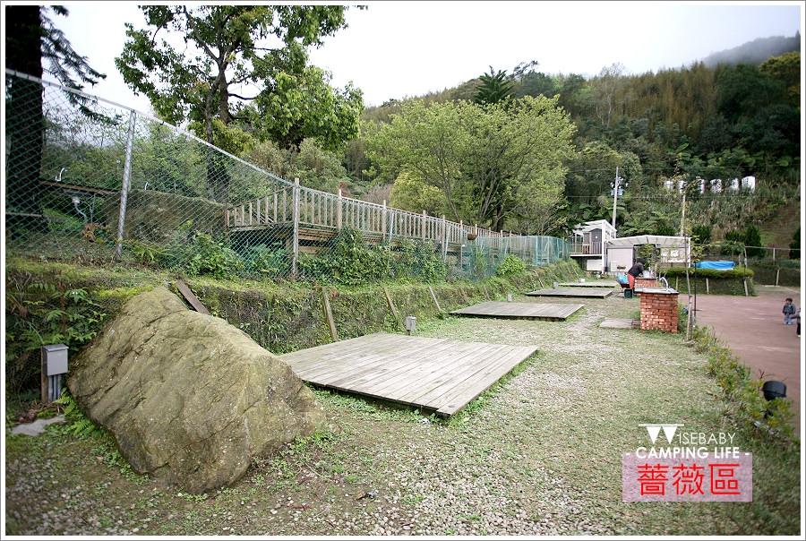 露營 | 新竹尖石。紅薔薇景觀咖啡.分區分層營地