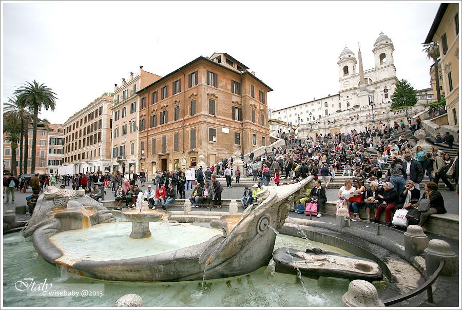 [義大利親子自助] 景點-Roma::羅馬散步地圖(三).馬喬雷聖母教堂、安傑利聖母教堂、勝利聖母教堂、四座噴泉、聖卡羅教堂、巴貝里尼廣場、西班牙廣場、波波洛(人民)廣場、人民聖母教堂