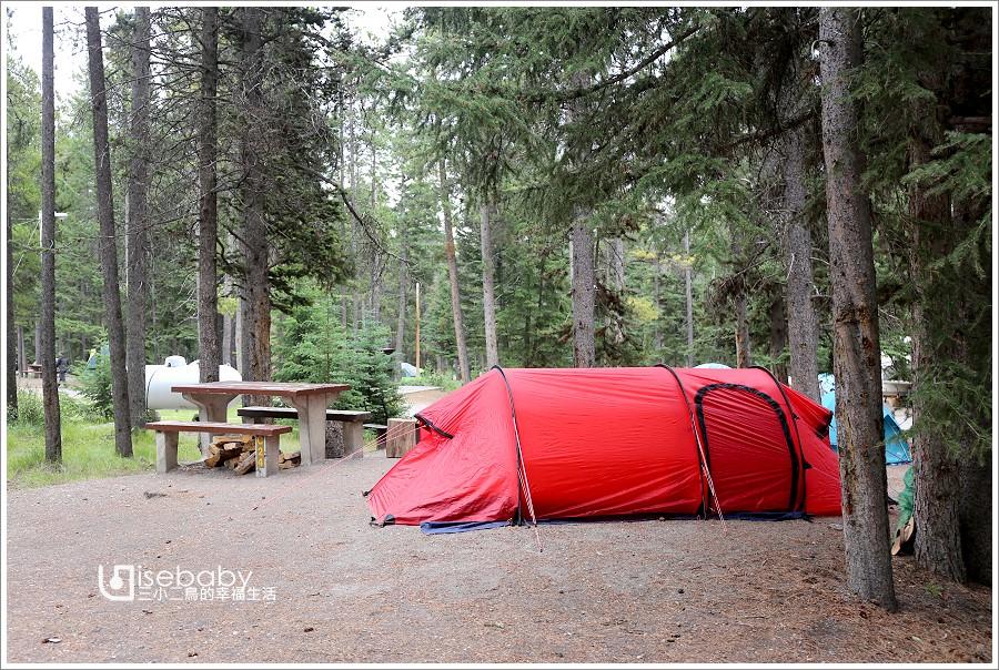 加拿大   露營。班夫國家公園營地.隧道山1村Tunnel Mountain Village I Campground