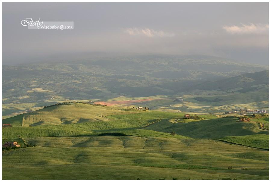 義大利住宿推薦 | 托斯卡尼Pienza鄉村美景農莊.Agriturismo Poderuccio