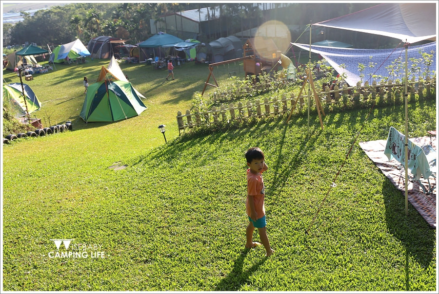 露營 | 台中新社。趣露營.有戶外閱讀區的超優質親子營地