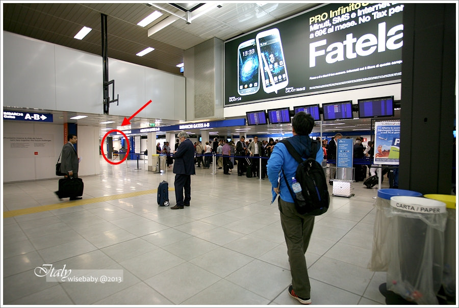 [義大利親子自助] 分享-米蘭LIN機場搭機與退稅經驗