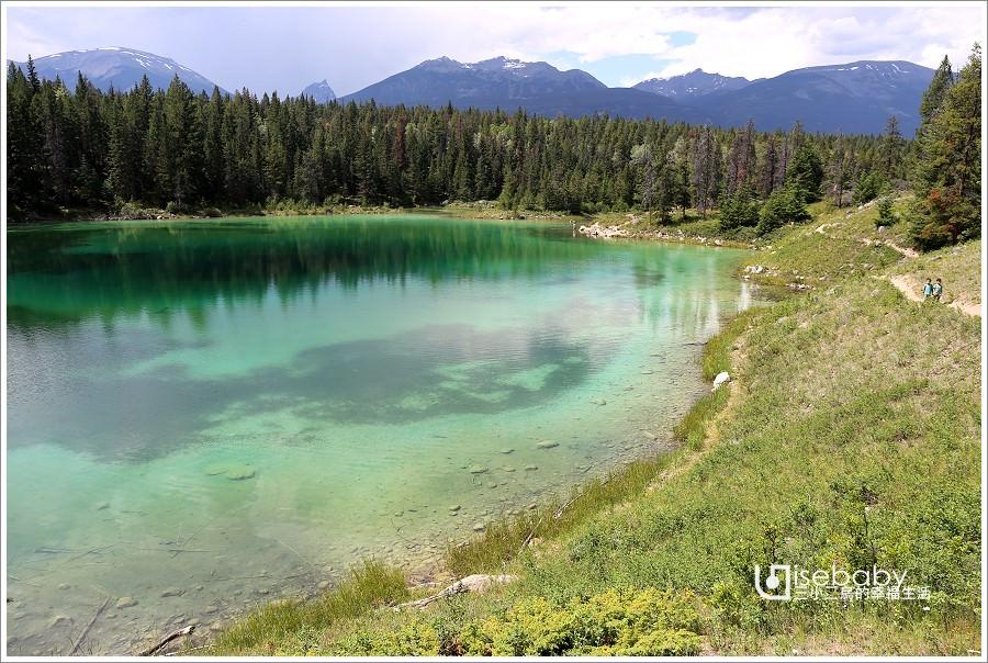 加拿大|健行。Valley of the Five Lakes五湖之谷步道.盡覽5顆綠寶石湖泊美景步道