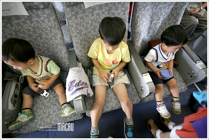 澳門親子自助【2】長榮航空.幸運的第20排座位