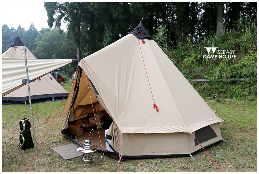 露營 | 新竹五峰。雲頂杉林景觀農場.Robens台灣第一場部落團聚