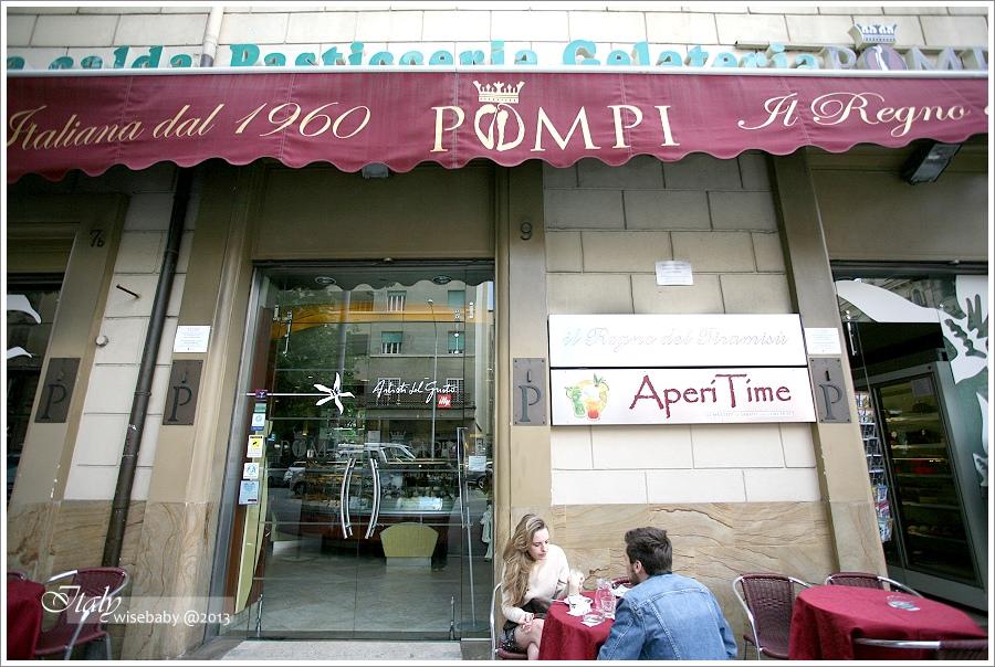 [義大利親子自助] 食記-Roma::我排名第一的Gelato店POMPI