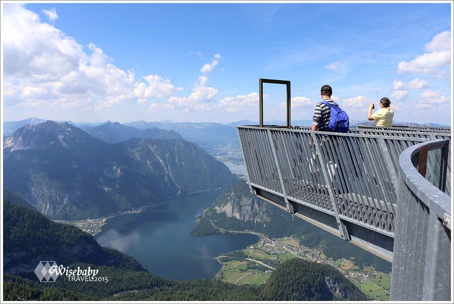 奧地利 | 哈修塔特一日遊推薦Dachstein行程.5fingers與Welterbespirale觀景台
