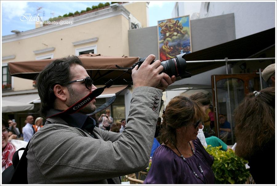 [義大利親子自助] 景點-Capri::在卡布里島遇見幸福婚禮