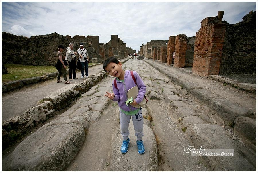 [義大利親子自助] 景點-Pompei::沉封千年的龐貝城(上)