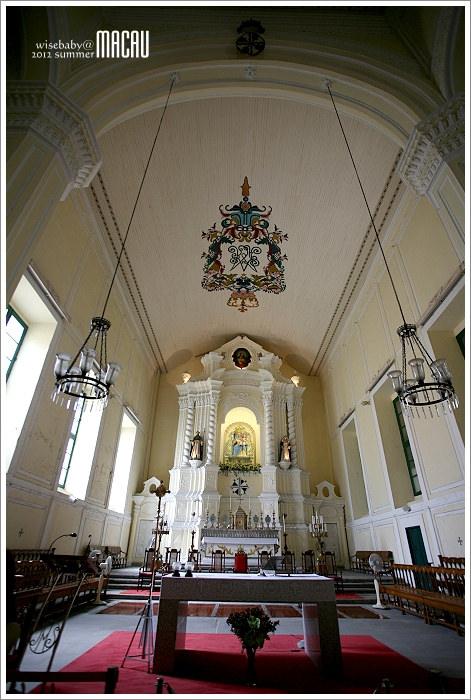 澳門親子自助【26】最美麗的祭壇::玫瑰聖母堂