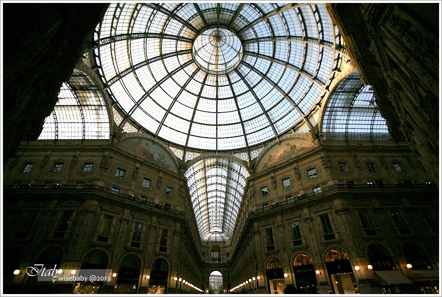 [義大利] 景點-Milano::米蘭散步地圖(一).米蘭大教堂、艾曼紐二世拱廊、史卡拉劇院
