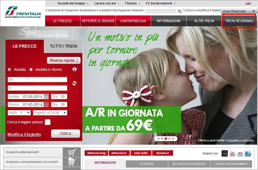 [義大利親子自助] 分享-義鐵網站查詢行李寄放處Deposito bagagli攻略