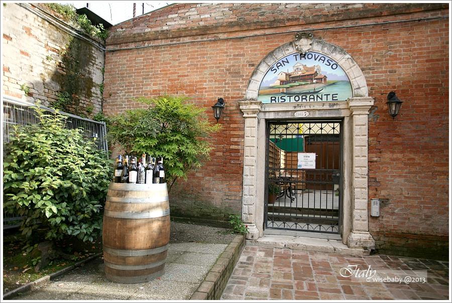 [義大利親子自助] 食記-Venezia::墨魚麵必吃Taverna San Trovaso