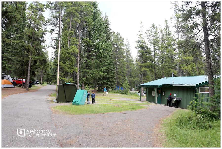加拿大露營 | 班夫國家公園營地。隧道山1村Tunnel Mountain Village I Campground