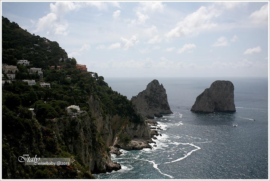 [義大利親子自助] 景點-Capri::漫步在卡布里島豔陽下(含購票交通資訊)