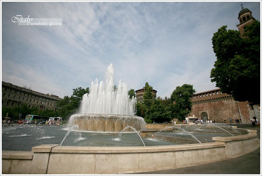 [義大利親子自助] 景點-Milano::米蘭散步地圖(二).感恩聖母教堂&最後的晚餐、斯福爾扎城堡