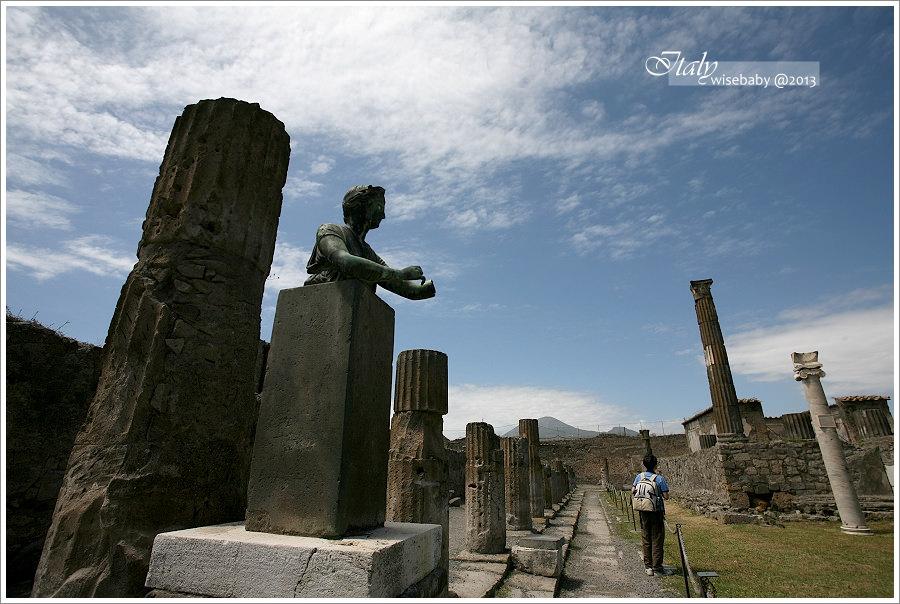 [義大利親子自助] 景點-Pompei::沉封千年的龐貝城(下)