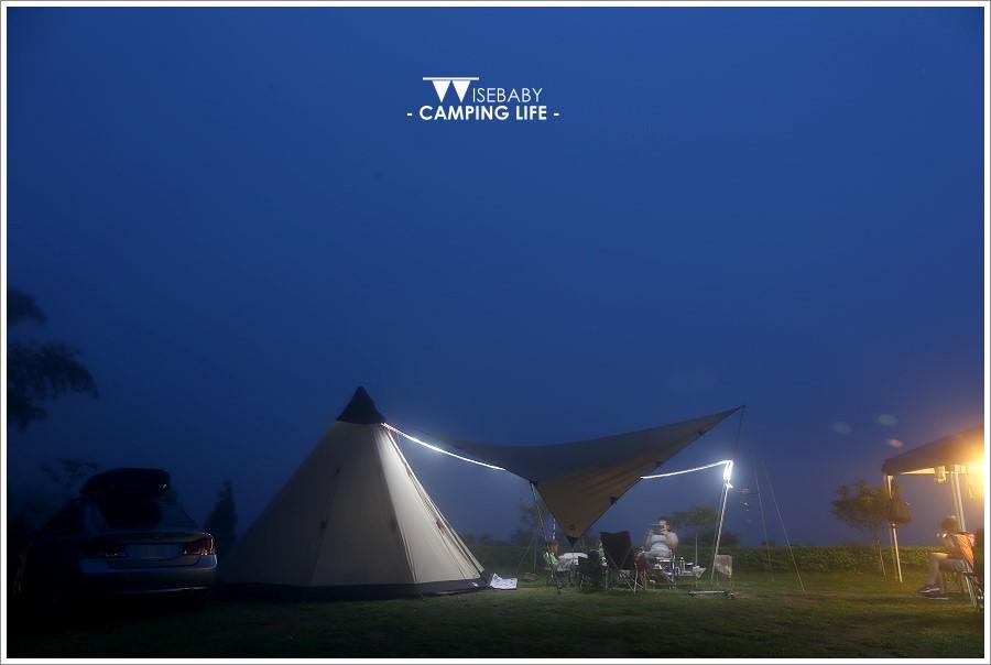 露營 | 苗栗泰安。星野天空露營區.擁有鷂婆山美景的優質營地