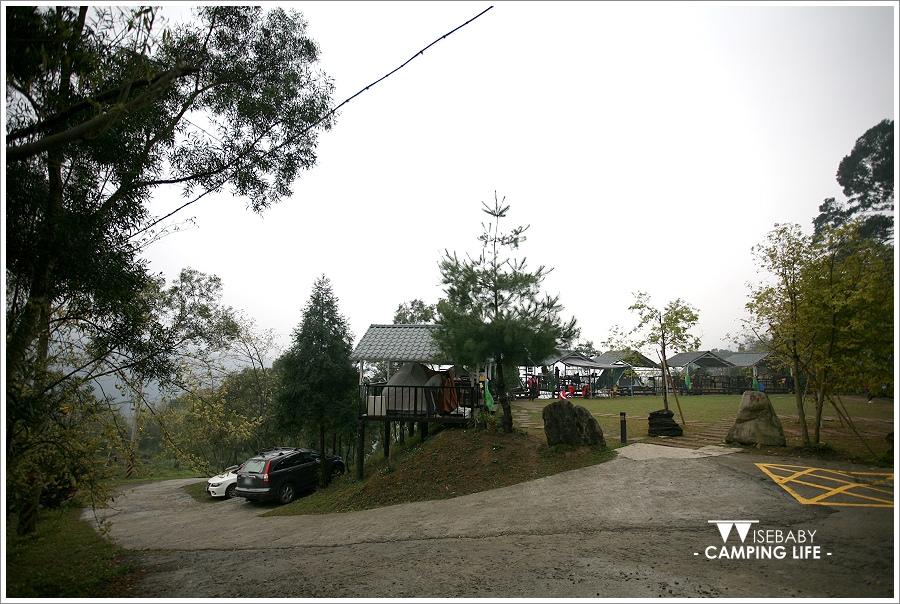 露營   新竹尖石。櫻花谷露營區.擁有舒適雨棚的五星級露營區
