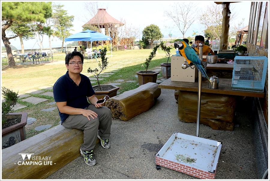 露營 | 台中新社。櫻花鳥森林.滑水道好好玩的櫻花營地