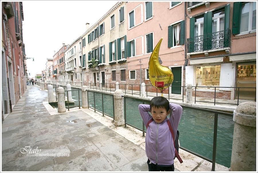 [義大利親子自助] 景點-Venezia::威尼斯散步地圖(三).學院橋、學院美術館、佩姬‧古根漢美術館、安康聖母院