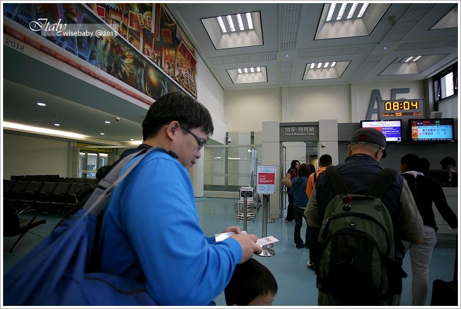 [義大利親子自助] 義航/華航機票聯營搭機經驗分享(羅馬FCO進、米蘭LIN出)