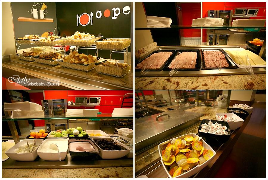 [義大利] 住宿-Milano::舒適x乾淨x豐盛早餐.全球連鎖的安全選擇@Ibis Milano Centro