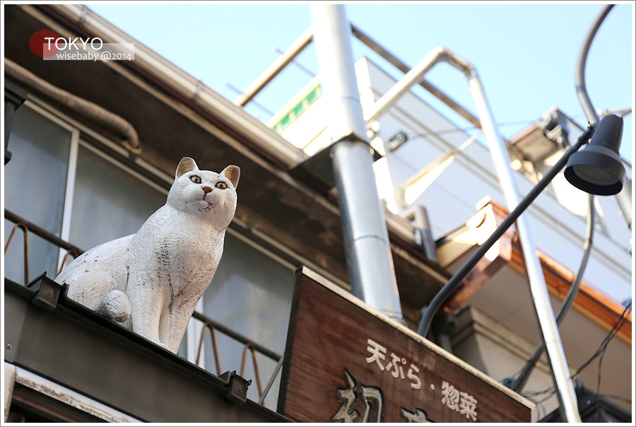[東京自助] 景點-谷中::富士見坂、谷中銀座商店街