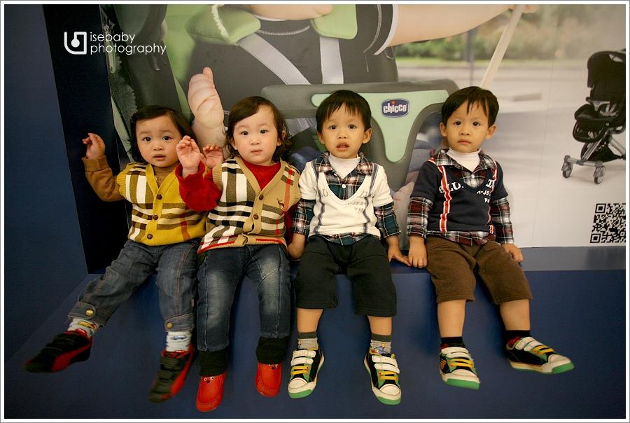 [聚] 二個家庭六個男娃的聚會@Mr.壽司(6Y2M+2Y11M)