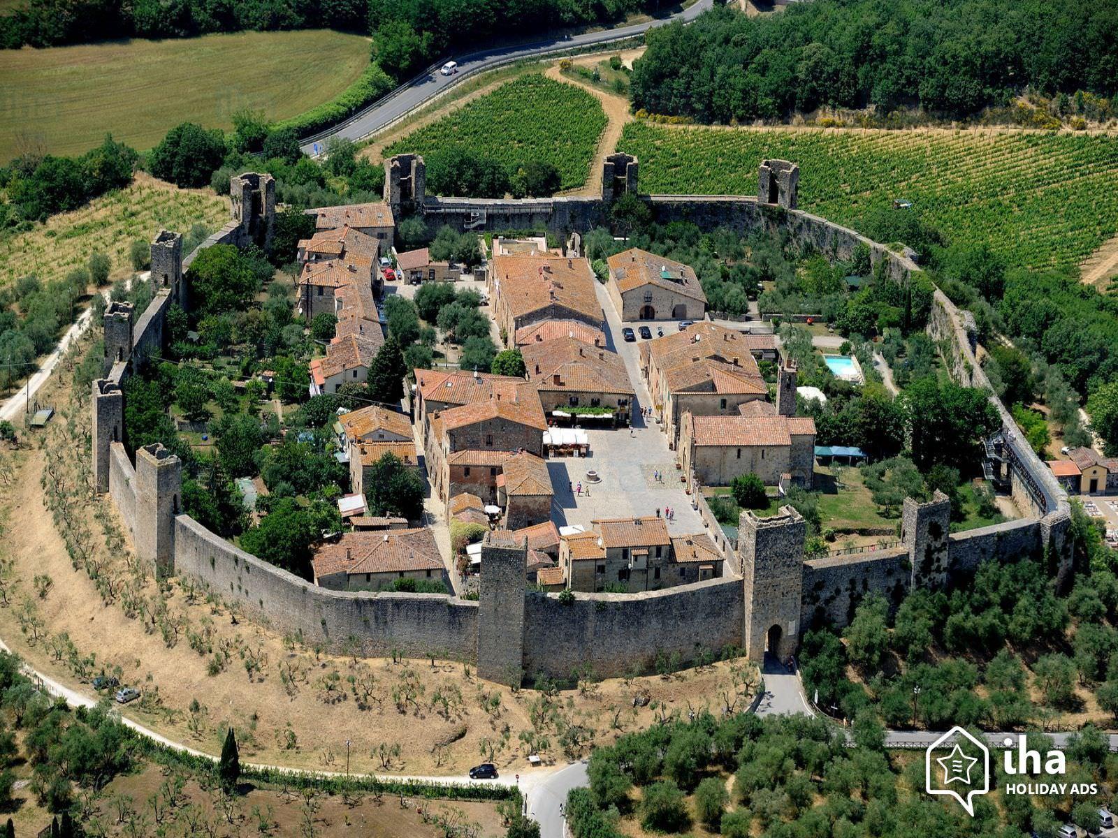義大利 | 托斯卡尼租車自駕推薦行程.中古世紀小鎮Monteriggioni