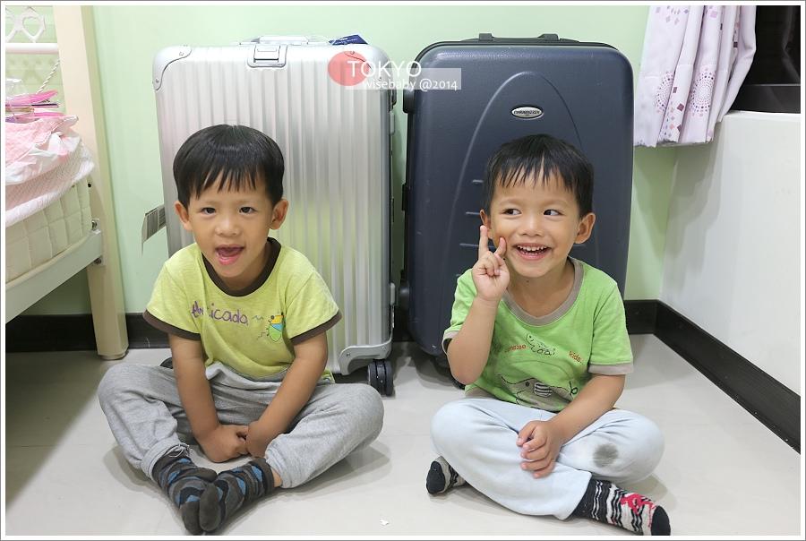 TOKYO行前日記【5】行李裝備