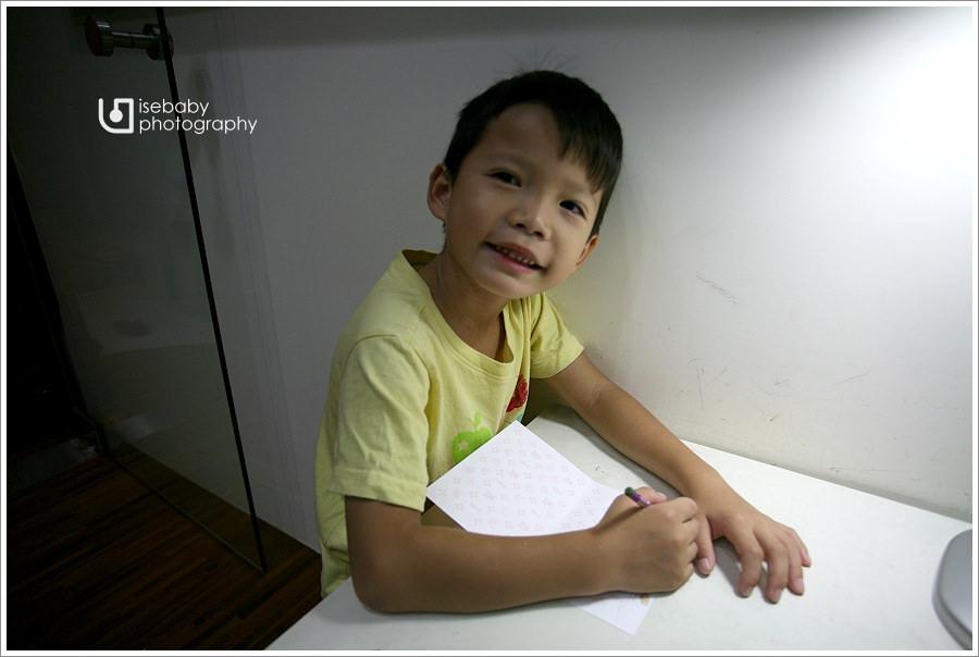 [兒子] Ryan-大班::送幼稚園老師的感謝禮物(6Y2M)